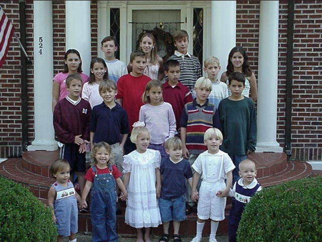 Robert & Caroline's grandchildren - October, 2002